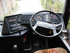 Newton's H155 DJU Cab (welsh bus 16) Tags: volvo cab newbridge paramount newtons 3500 plaxton b10m scotlandandbates h155dju