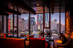 drinks with a view (Rob-Shanghai) Tags: china leica city bar cityscape view shanghai indigo drinks pudong indigohotel leicaq