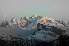 Mont_Blanc, le soir (fred7491) Tags: montblanc alpes hautesavoie neige aiguilledumidi