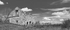 Flint Hills Farm B&W (joeqc) Tags: abandoned canon hills forgotten kansas flint 6d oncewashome