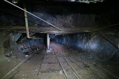 Gonzen Mine - Military Path (Kecko) Tags: underground geotagged army schweiz switzerland europe mine suisse swiss military kecko ostschweiz tunnel sg svizzera armee militr stollen 2016 militaer sargans bergwerk vild gonzen trbbach swissphoto bremsberg wartau geo:lat=47073810 geo:lon=9443390 gonzenbergwerk