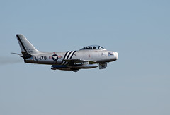 Noth American F-86A Sabre (NickS1966) Tags: north american f86a sabre fighter jet aviation flight duxford airshow 2013 nikon d7000 nikkor 70300mm