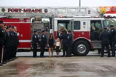 160603-A-DD264-048 (Fort Meade) Tags: usa rain urn md salute firetruck firedepartment fortgeorgegmeade