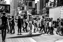 Second glance (Georgio's Photography) Tags: street nyc newyorkcity blackandwhite bw newyork monochrome mono manhattan scenicsnotjustlandscapes