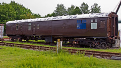 MK 1 80224 (JOHN BRACE) Tags: brown by bar wagon coach carriage centre railway gloucester use works second brake 1986 courier seen caf didcot built 1960 rebuilt gwr livery nnx 35291 renumbered 80224