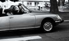 DS (Alex Szymanek) Tags: from street city people france car speed vintage cannes citroen ds fast past blast speeding faster