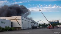 Fire (dynode.nl) Tags: utrecht evening mzuikodigitaled1240mmf28pro demeern fire accident brandweer brand