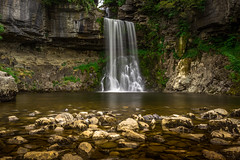 Thornton Force. (ian.emerson36) Tags: water pool canon landscape waterfall sandstone rocks yorkshire curtain trail filter limestone serene 1855mm silky hoya ingleton ndx400
