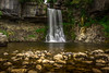 "Thornton Force. (Ian Emerson ""I'm Back"") Tags: water pool canon landscape waterfall sandstone rocks yorkshire curtain trail filter limestone serene 1855mm silky hoya ingleton ndx400"