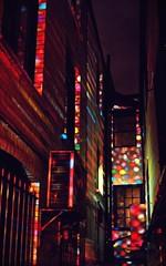 2010-02-12eh Polka dots ([Ananabanana]) Tags: lighting nottingham winter light color colour art night lights evening nikon colorful illuminations illumination gimp spot polka polkadots spots projection colourful 1855mm 1855 dots nikkor nottinghamshire projections notts d40 nikonistas nikkor1855mm nikon1855mm nikonista photoscape nikon1855mmkitlens nottinghamlightnight nikonafsdx1855mm