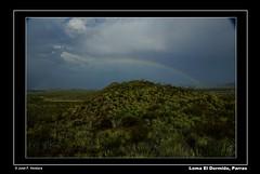 Despus de la lluvia (Sphenodiscus) Tags: arcoiris landscape lluvia rainbow desert paisaje nubes coahuila parras lechuguilla semidesert semidesierto