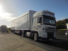 CN59 BXY - D A Miller & Sons Transport Ltd Claudy County Londonderry (Jonny1312) Tags: lorry londonderry daf claudy xf105 garvagh walkingfloor
