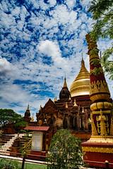 Temple at Bagan (ReinierVanOorsouw) Tags: reizen myanmar birma burma travelling travel travelstoke reiniervanoorsouw sony sonya7r sonya7rii a7rii asia asya azie bagan oldbagan