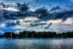 IMG_8985 - Kopie (2)And2more_tonemapped-1 (Andre56154) Tags: sky lake water clouds boot see boat wasser sweden harbour yacht schweden himmel wolken ufer hafen segelboot schren segelyacht