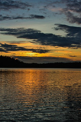 IMG_8997-1 (Andre56154) Tags: sunset sky sun lake water clouds see wasser sonnenuntergang sweden schweden himmel wolken dmmerung ufer sonne afterglow schren