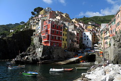 Riomaggiore, Cinque Terre (Sandro Helmann) Tags: italia liguria cinqueterre riomaggiore