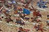 Knights attack (quinet) Tags: panorama germany flats 2012 jouets kulmbach spielwaren castleroad burgenstrase plassenburgcastle plassenburgzinnfigurenmuseum