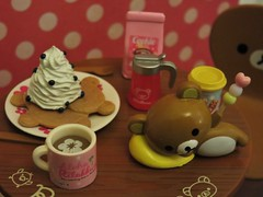 Rilakkuma Love (the pen corner *) Tags: rement teaparty rilakkuma rilakkumatableset