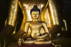 Inside Out (tylerkingphotography) Tags: old city travel statue thailand temple photography gold ancient nikon worship southeastasia glow photographer outdoor buddha prayer religion buddhism explore backpacking thai idol 1855mm traveling amateur d3100