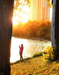 City Scape (Mardoqueo Charuc) Tags: sunset goldenhour tramonto lecoucherdusoleil cityscape lake goldenlake outdoor nature naturaleza natura puestadesol atardecer
