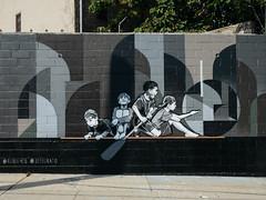 Rubin (sblaurock) Tags: streetart newyorkcity rubin415 queens wellingcourtmuralproject