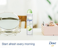 Get Off to a Fresh Start (DoveSouthAfrica) Tags: antiperspirant deodorant dovedeodorant