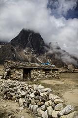 Mountain hut (Adept Photography) Tags: nepal stupa monastery nepalese yaks everest himalayas 2016 tengboche stupas