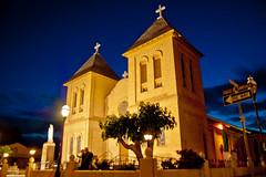 San Albino Basilica@ Night (davev704) Tags: newmexico southwest church night basilica bluehour mesilla mesillanewmexico 2013 newmexicochurch sanalbinobasilica