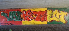 vane and trick rasta One Love (Mr Vane..T.A.F) Tags: graffiti mr crew roller piece vane rasta dub throwup emulsion taf siek ofk struk dfn respa