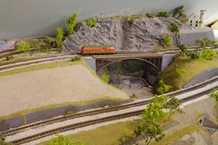 Viaduct (Concorps) Tags: ireland dublin tree scale car train spur model carriage pentax sony n eisenbahn railway zug german american valley locomotive  rheintal bahn gauge  roco tal spoor deutsch mosel   kx fleischmann     1160  minitrix    spoorwgen  dscw220