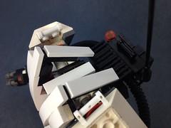 w04.h // ground assault type - g.a.t. (Messymaru) Tags: original robot gun lego mecha mech gattling moc uploaded:by=flickrmobile flickriosapp:filter=nofilter