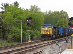 CSX (Littlerailroader) Tags: railroad train newengland newhampshire trains transportation locomotive freighttrains trainspotting locomotives railroads csx freighttrain atkinson atkinsonnewhampshire