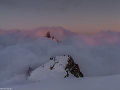 Tra le nuvole (-samuel-) Tags: montagne courmayeur montblanc valledaosta rochefort dentedelgigante alpioccidentali rifugiotorino grosrognon