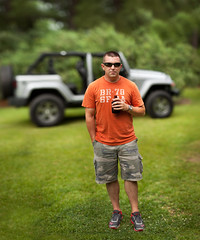 Oscar Mike (clay.wells (Explorer of the High Ozarks)) Tags: cmwjeepbokehpanosmall canon eos 5d mark ii ef 135mm f2l usm prime lens dof bokeh panorama pano brenizer method caleb jeep oscar mike memorialday2013 clayton wells photography may 2013