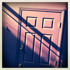 (Joie de Vivre) Tags: door shadow diagonal iphone hipstamatic