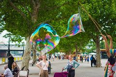 Bubbles (karimsaddedine) Tags: london cool bubbles southbank