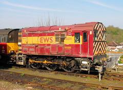 09001 (R~P~M) Tags: uk greatbritain england train diesel unitedkingdom plymouth railway devon 09 locomotive shunter ews