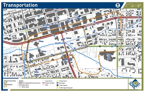Photo - Transportation Facilities Map
