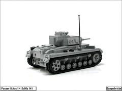 panzerIIIH-05 (Panzerbricks) Tags: lego panzer panzeriii legotank sdkfz141 panzerbricks panzeriiiausfh