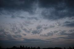 Clouds 107 (Alessandro.Motta) Tags: sky italy cloud moon night plane dark stars eclipse casa nuvola cielo bergamo lombardia treviglio