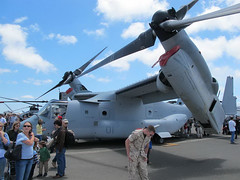 "Bell V-22 Osprey (1) • <a style=""font-size:0.8em;"" href=""http://www.flickr.com/photos/81723459@N04/9272489411/"" target=""_blank"">View on Flickr</a>"