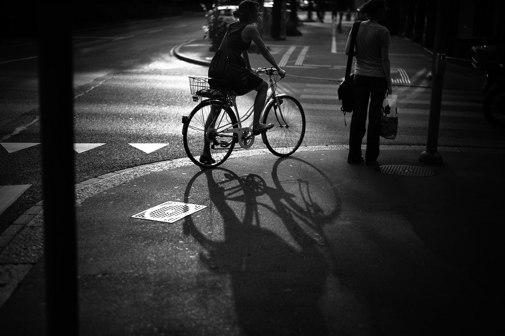 bicycle shadow by gato-gato-gato, on Flickr