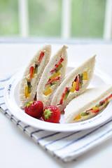 fruity sandwich (*steveH) Tags: fruit sweet cream sandwich steveh mascarponecheese