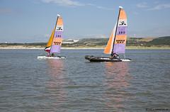 """206/365 : """"D'une rive  l'autre"""" (Nutena) Tags: sea mer water boats eau projet baie letouquet etaples bteaux voiles 365days 365project ganche 365jours uneanneenimages oneyearinimages"""