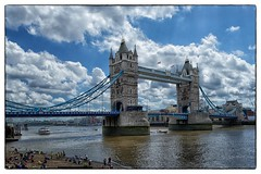 Tower Bridge - London, England (gastwa) Tags: city bridge england sky urban london water thames clouds river nikon focus control angle wide perspective shift wideangle andrew structure full frame 24mm manual fullframe fx tilt d800 f35 tiltshift pce gastwirth d800e andrewgastwirth
