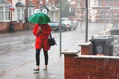 big-eyed umbrella (vasilennka) Tags: street uk england people rain umbrella canon leicester streetphotography streetphoto streetstories