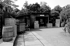 SONY Cyber-shot DSC-RX100 Snapshot (Exterior of African Jungle Zone at Yokohama Zoological Gardens) (Dakiny) Tags: summer blackandwhite monochrome japan zoo photo nikon sony snapshot cybershot august snap photograph yokohama  tamron   carlzeiss 8    zoorasia  animalphoto tstar 2013  rx100 a005  asahiku carlzeisslens yokohamazoologicalgardens     d5100  2013 modela005 dscrx100  sonycybershotdscrx100 bariozona t