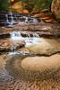 Liquid Logic (Eddie 11uisma) Tags: park southwest creek subway landscapes utah fork falls trail national american waterfalls zion eddie left lluisma
