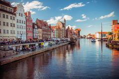 Motlawa River, Gdansk (Mariusz Talarek) Tags: travel landscape nikon poland polska gdansk landscapephotography d90 nikond90 pomeranianvoivodeship addicted2walking