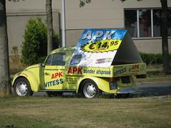"VW ""APK VITESS"" (streamer020nl) Tags: promotion vw volkswagen reclame almere apk almerebuiten 2013 vitess 7012hu up8832"